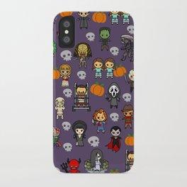 halloween horror special blanket iPhone Case