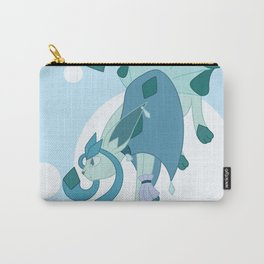 Ice Steampunk Fox Carry-All Pouch