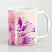 hibiscus Mugs featuring Hibiscus by Magenda