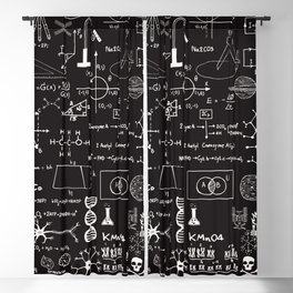 Science Madness Blackout Curtain