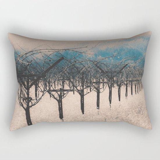 Winter Vineyard II - Nature's Orchestra Rectangular Pillow