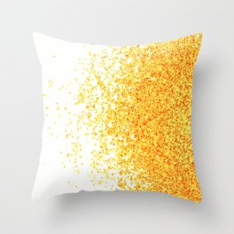 burnt sugar Throw Pillow