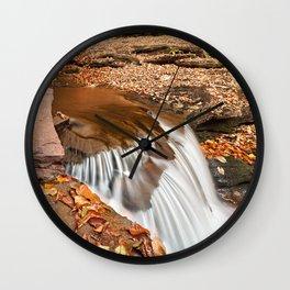 Delahican Falls Wall Clock