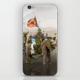 Lost Continent iPhone Skin