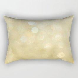 Bokeh Series - Gold Dust Rectangular Pillow