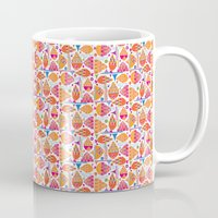 jelly fish Mugs featuring Jelly Fish by Apple Kaur