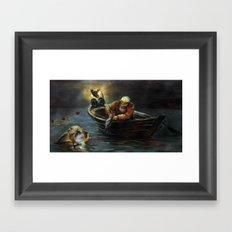EYGENIA LOGVYNOVSKA, Goldfish Framed Art Print