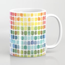 Watercolor Swatches Coffee Mug