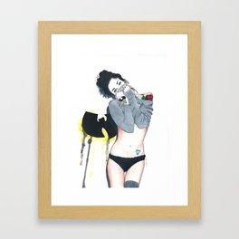 The Love Of Wutang Framed Art Print