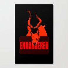 Endangered Addax Canvas Print