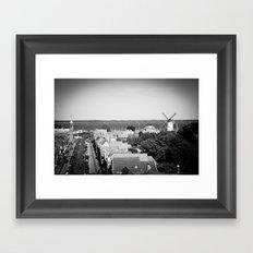 A Dutch view Framed Art Print