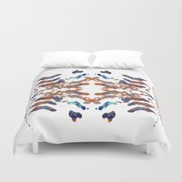 ethnic Duvet Covers featuring Ethnic by Rui Faria