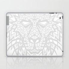 Heart of a Lion - Gray Laptop & iPad Skin