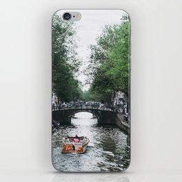 Canal Cruise iPhone Skin