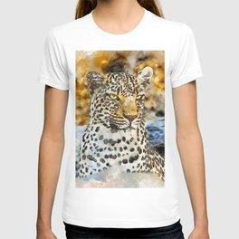 Leopard Look Wild T-shirt