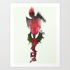 Devil's daughter Art Print
