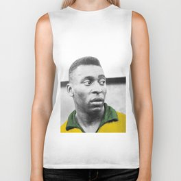 Pelè - Brazilian top player Biker Tank