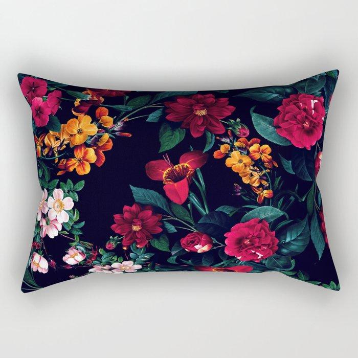 The Midnight Garden Rectangular Pillow