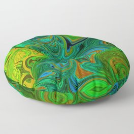 FREE ABSTRACT FACE SHILOUETTE Floor Pillow