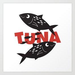 Tuna Art Print