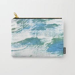 Mint cream watercolor Carry-All Pouch