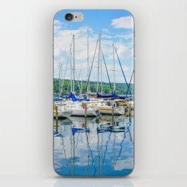 Glen Harbour Marina iPhone Skin