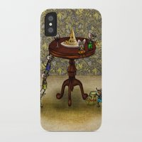 cheese iPhone & iPod Cases featuring Cheese by Anna Shell