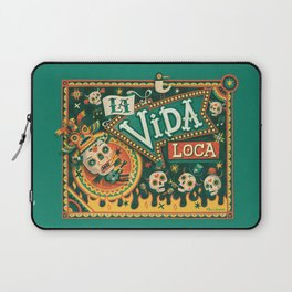 La Vida Loca Laptop Sleeve