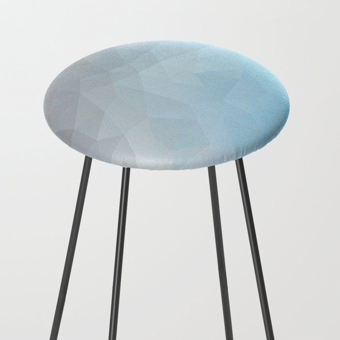 """""""Rainy day"""" triangles design Counter Stool by nessikk ..."""