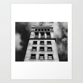 Look up New York 1 Art Print