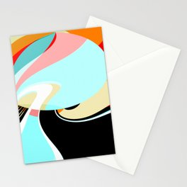 """Abstract 21022020 """"Sunbathing"""" Stationery Cards"""