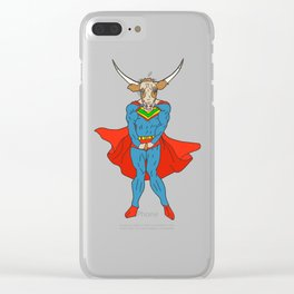 Man of Steer Clear iPhone Case