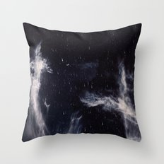 Falling stars II Throw Pillow