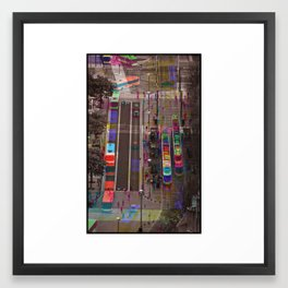 Sequential Serie : The Center Framed Art Print