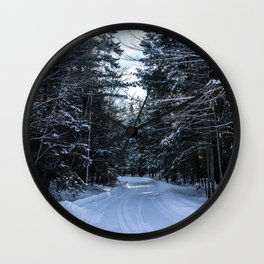 Winter Wonderland Wall Clock