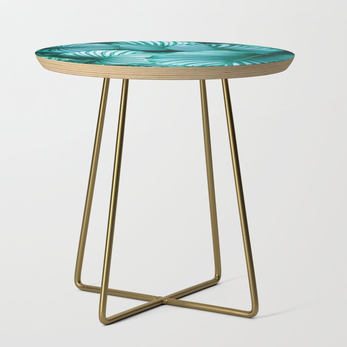 Turn Over A New Leaf Side Table