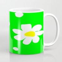 daisies Mugs featuring Daisies by Vitta
