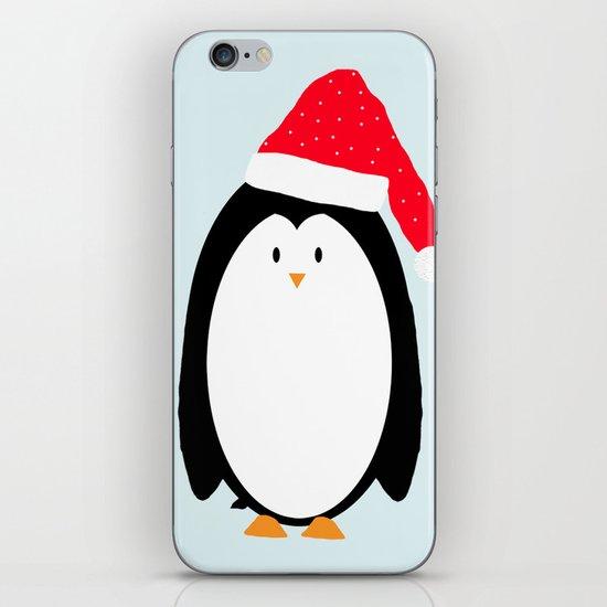 Christmas Penguin iPhone & iPod Skin