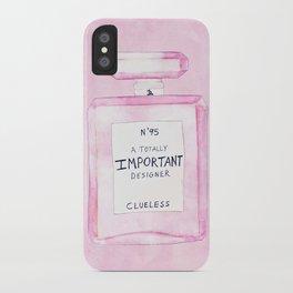 Clueless Design Co. iPhone Case
