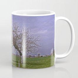 trees and fields near Laupheim Coffee Mug