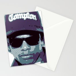 Easy E portrait N.W.A. Stationery Cards