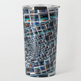 Abstract Infinity Travel Mug