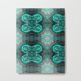 Emerald cell Metal Print