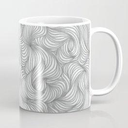 Gray Waves Coffee Mug