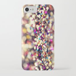 Rainbow Sprinkles - an abstract photograph iPhone Case