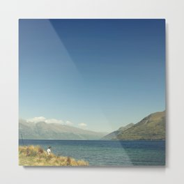 Calm shore Metal Print
