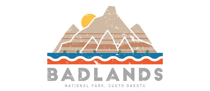 Badlands National Park, South Dakota Coffee Mug