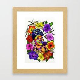 Ella Fitzgerald Jazz Legend Framed Art Print