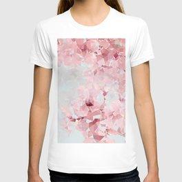 Meshed Up Sakura Blossoms T-shirt