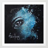 """Fearless"" Art Print"